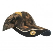 Camo Ball Cap w/12 Gauge Shell