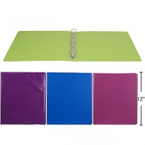 "1"" Vinyl Binders ~ Bright Colors"