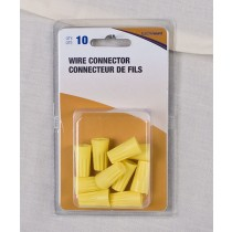 Twist-On Wire Connectors, Medium #33 ~ Yellow