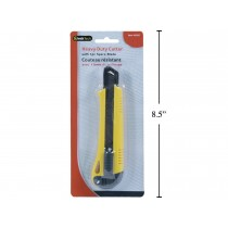 Heavy Duty Retractable Utility Cutter with 1 Spare Blade