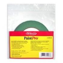 "Cantech PaintPro Premium Green 10-Day Masking Tape ~ 1/4"""