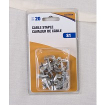 Cable Safety Staples ~ 20 per pack