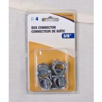 """2-Screw Box Connector - 4 per bag ~ 3/8"""""""