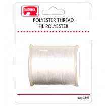 Sewing Thread - Carded ~ White