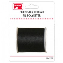 Sewing Thread - Carded ~ Black