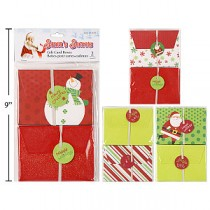 Christmas Gift Card Paper Boxes ~ 2 per pack