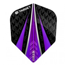 Target Vision Ultra Flight ~ Black with Purple