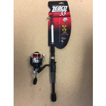 Zebco Authentic 33 Telescopic Spinning Combo ~ 6'0