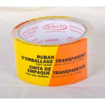 Cantech General Purpose Packaging Tape ~ Clear