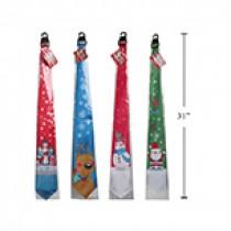 """Christmas Ties ~ 27.5""""L"""