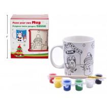 Christmas Paint Your Own Mug Set