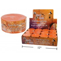 Halloween Puck Pumpkin Candle