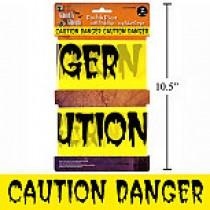 Halloween Caution Tape - set of 2 ~ 20'