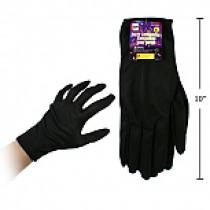 Halloween Black Gloves