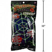Halloween Glow Spider Web