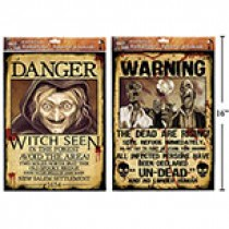 """Halloween """"Wanted"""" Posters"""