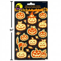 Halloween Glow-In-The-Dark Stickers
