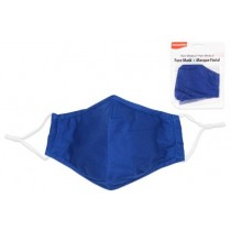 Adult Size Cloth Face Mask - 3 Layer ~ Navy