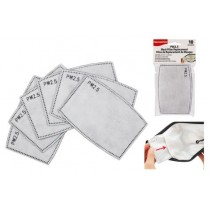 Mask Filter Replacements ~ 10 per pack