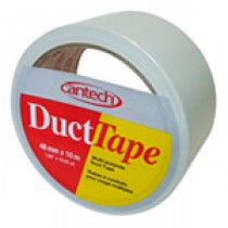 Cantech Colored Duct Tape ~ White