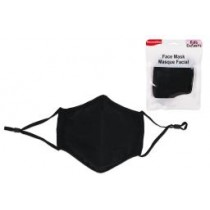 Kid Size Cloth Face Mask - 3 Layer ~ Black
