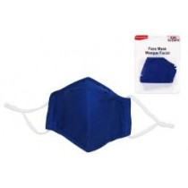 Kid Size Cloth Face Mask - 3 Layer ~ Navy