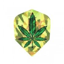 Dartworld Broken Glass ~ Weed Plant