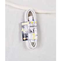 Indoor Extension Cord - Triple Outlet ~ 2M/6'