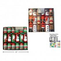 "Christmas Crackers - 12"" ~ 6 per pack"