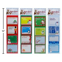 Christmas Kitchen Labels ~ 32 per pack