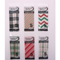 Christmas Printed Tissue Paper ~ 5 per pack