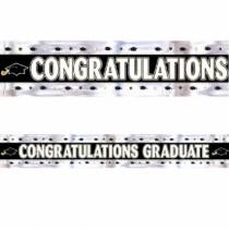 Graduation Foil Banner ~ 9'
