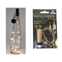 Christmas Batttery Operated Cork Bottle Topper LED Light Set