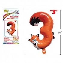 """Air Filled Balloon - 1"""" ~ Fox #3"""