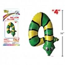 "Air Filled Balloon - 1"" ~ Snake #4"