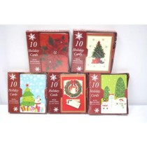 Christmas Boxed Cards ~ 10 per pack