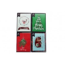 Christmas Handmade Whimsical Boxed Cards ~ 12 per pack