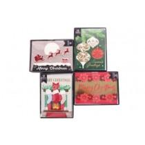 Christmas Handmade Contemporary Boxed Cards ~ 12 per pack