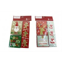 Christmas Jewelry Sized Gift Boxes ~ 3 per pack