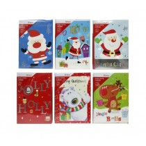 Christmas Boxed Cards w/Foil ~ 10 per pack
