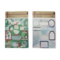 Christmas Laser Peel-N-Stick Tags ~ 36 per pack