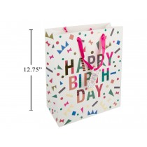 Large Gift Bag ~ Happy Birthday