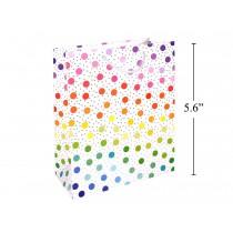 Small Gift Bag ~ Rainbow Dots
