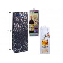 Bottle Gift Bags ~ Drink Glasses
