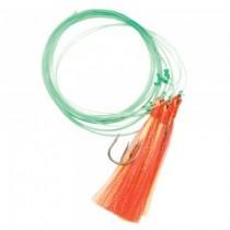 Cod Crystal Feather Bait ~ 3 per string