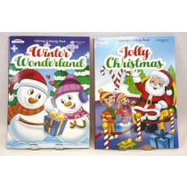 Christmas Coloring Book ~ 80 pages