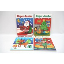 Christmas Super Jumbo Coloring Book ~ 240 pages