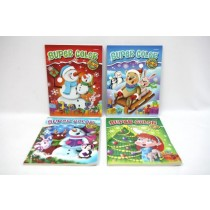 Christmas Super Coloring Book ~ 96 pages