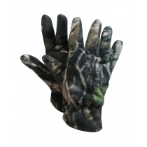 Camo Polar Fleece Gloves