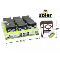 Solar Plastic Wall Lights ~ 12 per display